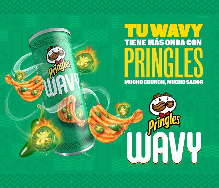 PRINGLES WAVY